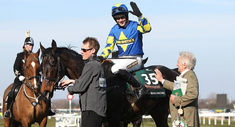 Auroras Encore wins the 2013 Grand National