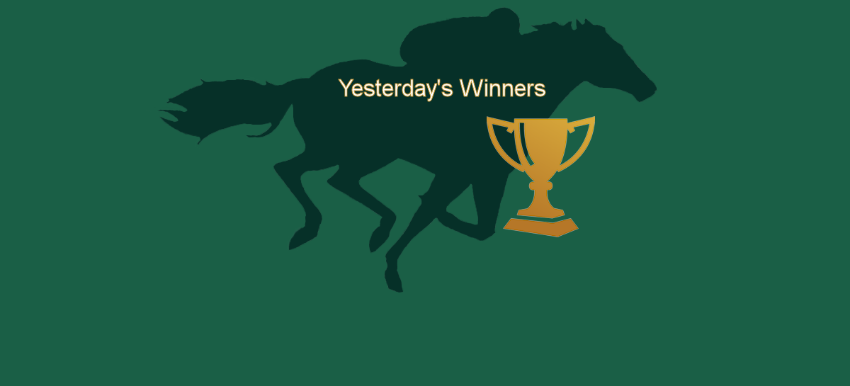 Yesterdays Winners